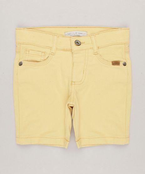 Bermuda-Infantil-com-Bolsos-Amarelo-9241257-Amarelo_1