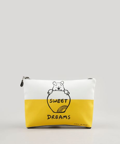 Necessaire-Feminina-Ursinho-Pooh--Sweet-Dreams--Branca-9242821-Branco_1