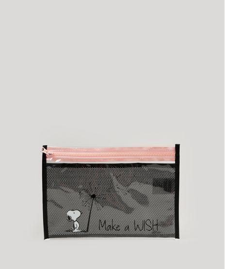 Necessaire-Feminina-Snoopy-com-Divisoria-Rose-9236897-Rose_1