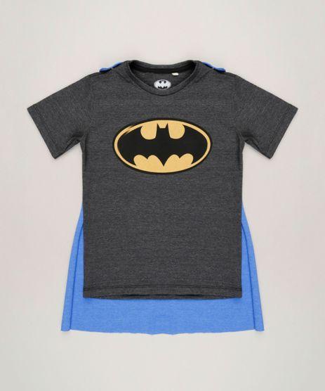 Camiseta-Infantil-Batman-com-Capa-Removivel-Manga-Curta-Gola-Careca-Cinza-Mescla-Escuro-9228486-Cinza_Mescla_Escuro_1