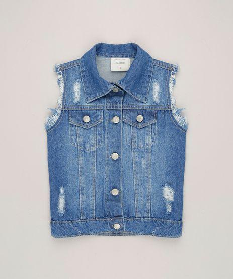 Colete-Jeans-Infantil-Destroyed--Azul-Medio-9246824-Azul_Medio_1