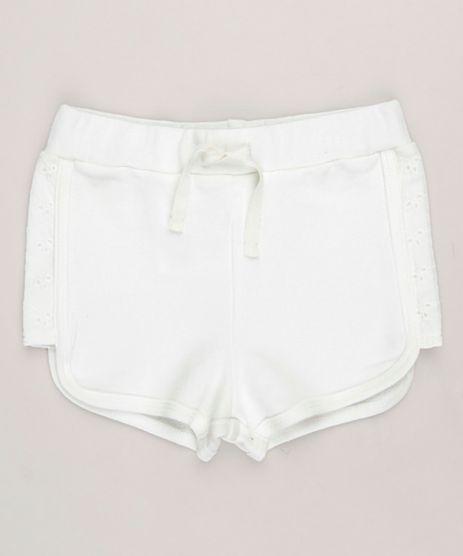 Short-Infantil-com-Laise-em-Algodao---Sustentavel-Off-White-9117936-Off_White_1