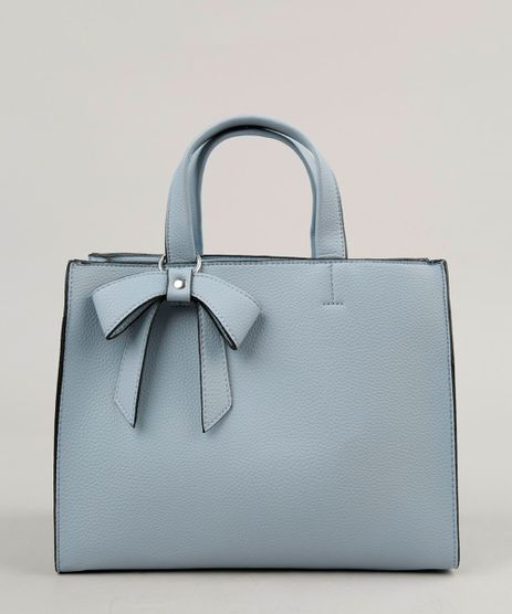 Bolsa-Feminina-Tote-com-Laco-e-Alca-Transversal-Removivel-Azul-Claro-9197796-Azul_Claro_1