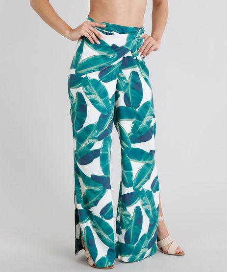 Calca-Feminina-Pantalona-Estampada-de-Folhagens-com-No-e-Fendas-Off-White-9225705-Off_White_1