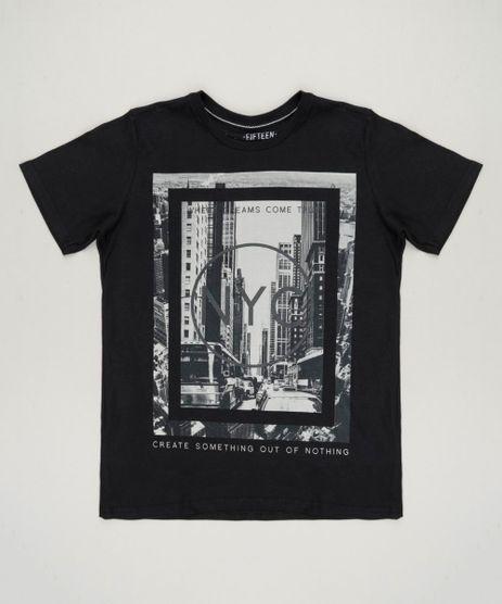 Camiseta-Infantil--NYC--Manga-Curta-Gola-Careca-Preta-9141706-Preto_1