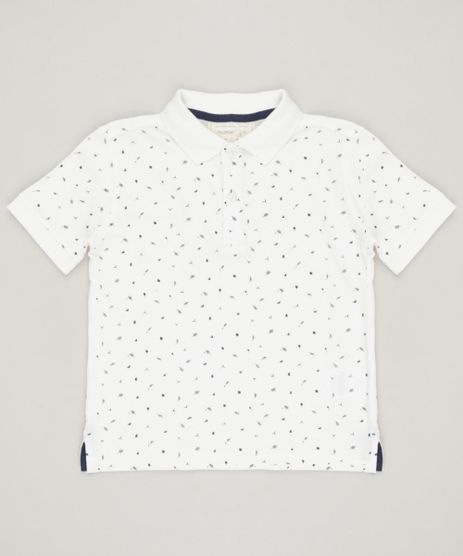 Polo-Infantil-Mini-Print-em-Piquet-Manga-Curta-Off-White-9194309-Off_White_1