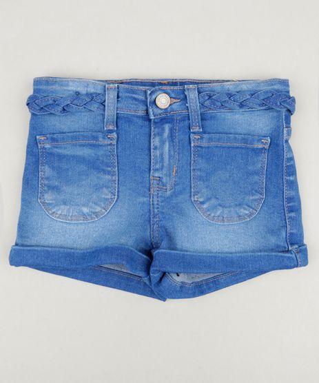 Short-Jeans-Infantil-com-Bolsos-e-Tranca-Azul-Medio-9246340-Azul_Medio_1