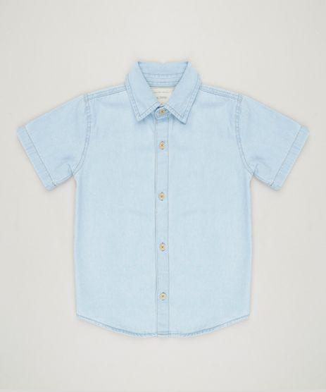 Camisa-Jeans-Infantil-Manga-Curta-Azul-Claro-9235855-Azul_Claro_1