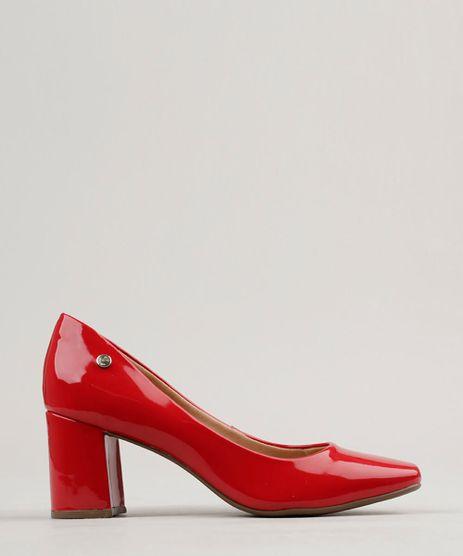 Scarpin-Feminino-Via-Uno-Bico-Quadrado-Salto-Medio-em-Verniz-Vermelho-9253515-Vermelho_1
