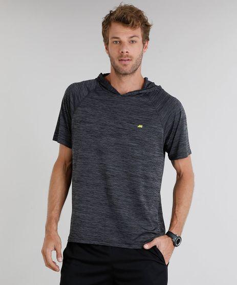 Camiseta-Masculina-Esportiva-Ace-com-Capuz-Manga-Curta-Gola-Careca--Cinza-Mescla-Escuro-9219615-Cinza_Mescla_Escuro_1