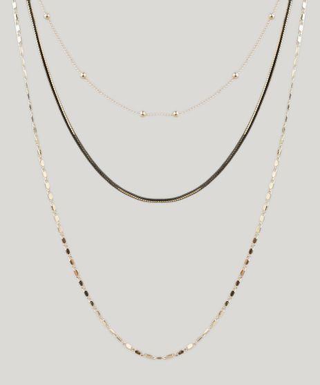 Colar-Feminino-Triplo-com-Correntes-Dourado-9208663-Dourado_1