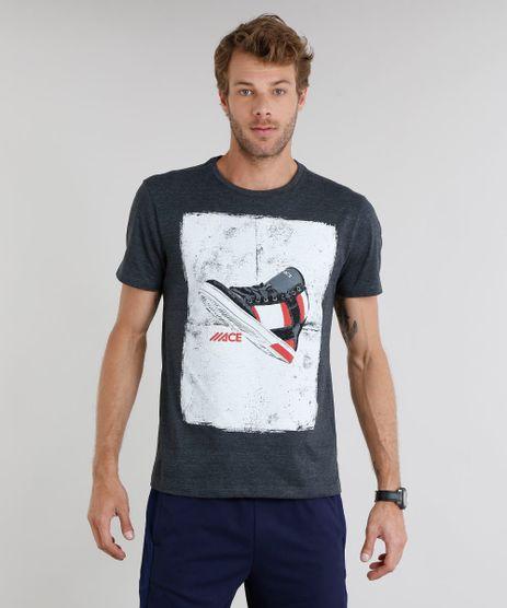 Camiseta-Masculina-Esportiva-Ace-com-Estampa-de-Tenis-Manga-Curta-Gola-Careca-Cinza-Mescla-Escuro-9215923-Cinza_Mescla_Escuro_1