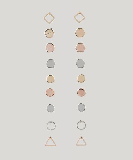 Kit-de-9-Brincos-Femininos-Geometricos-Multicor-9203339-Multicor_1