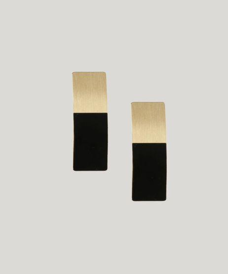 Brinco-Feminino-Retangular-Dourado-9208644-Dourado_1