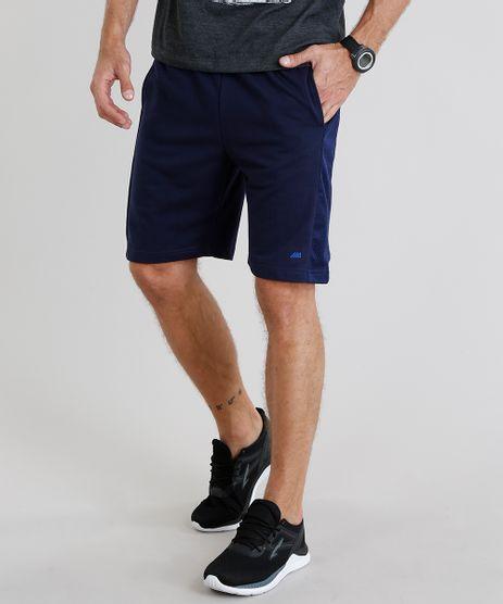 Bermuda-Masculina-Esportiva-Ace-em-Moletom-com-Tela-Azul-Marinho-9214630-Azul_Marinho_1