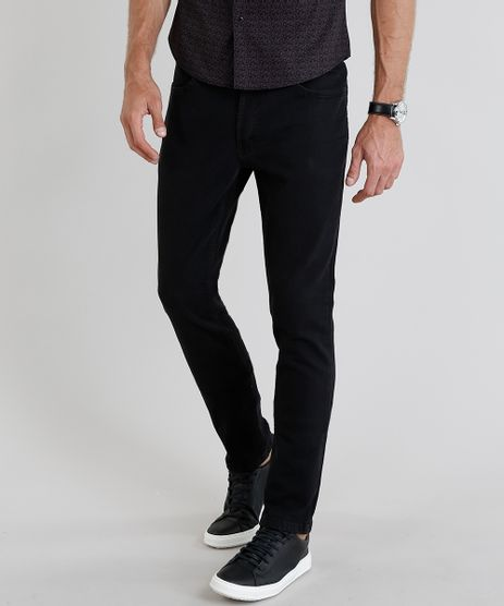 Calca-Jeans-Masculina-Skinny-Preta-9216460-Preto_1