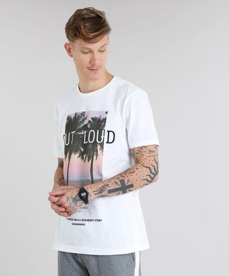 Camiseta-Masculina--Out-Loud--Manga-Curta-Gola-Careca-Off-White-8819708-Off_White_1