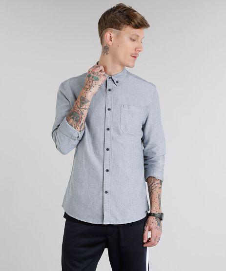 Camisa-Masculina-com-Bolso-Manga-Longa-Cinza-9082965-Cinza_1