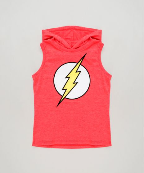 Regata-Infantil-The-Flash-com-Capuz-Vermelha-9263950-Vermelho_1