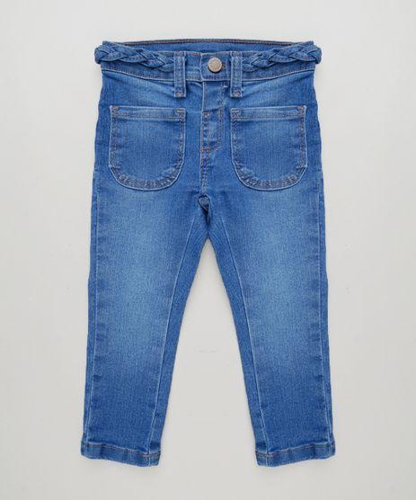 Calca-Jeans-Infantil-com-Bolsos-e-Tranca-Azul-Medio-9228374-Azul_Medio_1