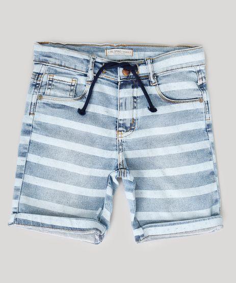 Bermuda-Jeans-Infantil-Listrada-com-Bolsos-Azul-Claro-9239111-Azul_Claro_1