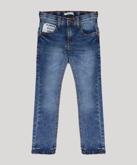 Calca-Jeans-Infantil-Skinny-com-Bolsos-Azul-Medio-9226683-Azul_Medio_1