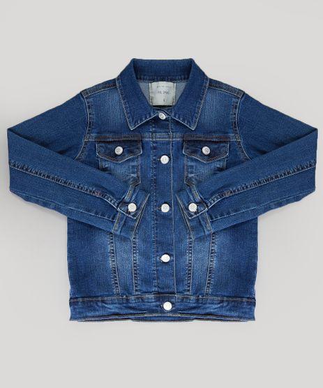 Jaqueta-Jeans-Infantil-com-Bolsos-Azul-Medio-9168812-Azul_Medio_1