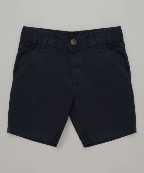 Bermuda-Color-Infantil-Reta-em-Algodao---Sustentavel--Azul-Marinho-8277086-Azul_Marinho_1