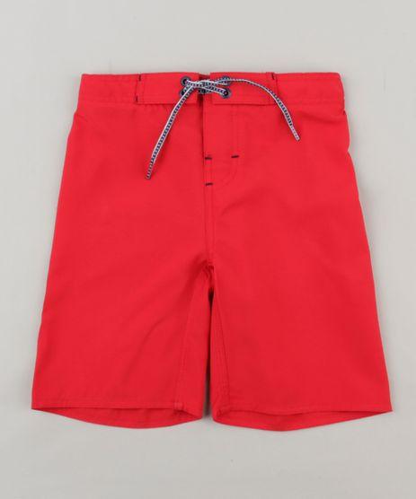 Bermuda-Surf-Infantil-Basica-com-Velcro-e-Cordao-Vermelha-9244764-Vermelho_1