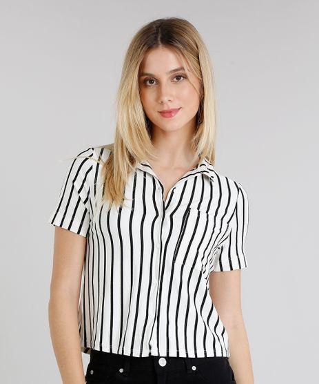 Camisa-Feminina-Cropped-Listrada-com-Bolso-Manga-Curta-Off-White-9282638-Off_White_1