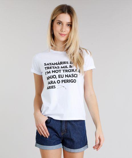 de33186051 Blusa-Feminina-Signos-Aries-Manga-Curta-Decote-Redondo-