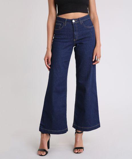 Calca-Jeans-Pantacourt-Cintura-Alta-Azul-Escuro-9248909-Azul_Escuro_1