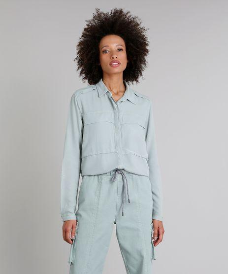 Camisa-Feminina-Oversized-Manga-Longa-Verde-Claro-9314311-Verde_Claro_1