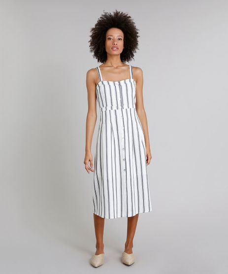 Vestido-Midi-em-Linho-Listrado-com-Botoes-Off-White-9258513-Off_White_1