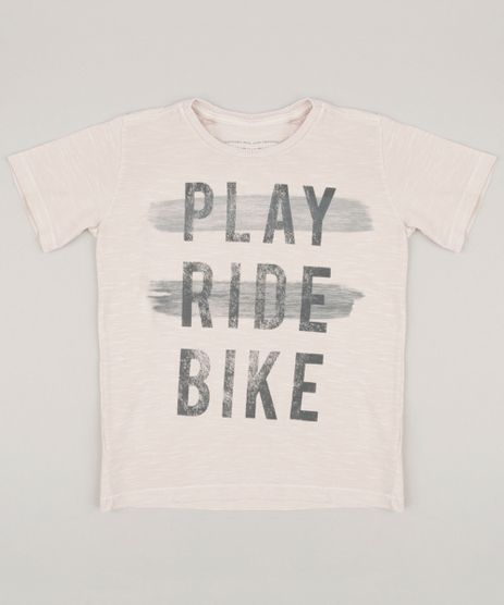 Camiseta-Infantil--Play-Ride-Bike--Manga-Curta-Gola-Careca-Rose-9232571-Rose_1