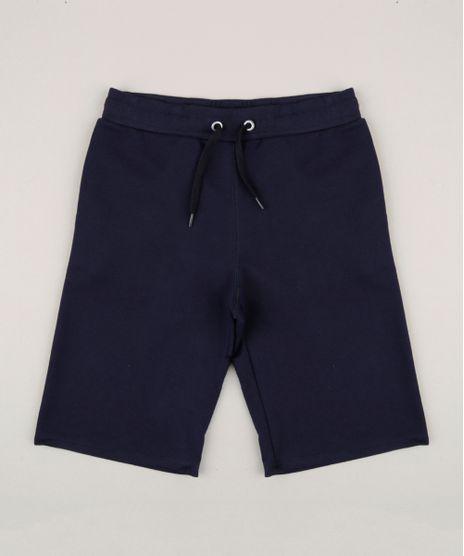 Bermuda-Infantil-Basica-com-Bolsos-em-Moletom-Azul-Marinho-9272834-Azul_Marinho_1