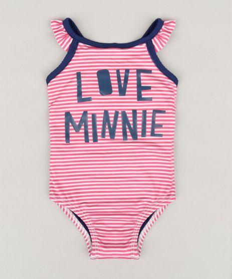 Maio-Infantil-Minnie-Listrado-Halter-Neck-com-Laco-e-Babado-Protecao-UV50--Rosa-9036822-Rosa_1