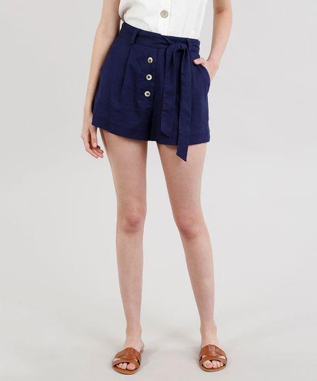 Short-Feminino-Clochard-com-Botoes-Azul-Marinho-9318312-Azul_Marinho_1
