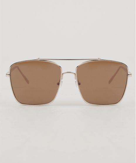 Oculos-de-Sol-Quadrado-Unissex-Oneself-Dourado-9307243-Dourado_1