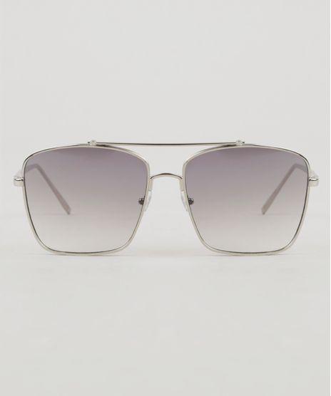 Oculos-de-Sol-Quadrado-Unissex-Oneself-Prateado-9307240-Prateado_1