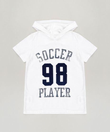 Camiseta-Infantil--Soccer-Player--com-Capuz-Manga-Curta-Off-White-9240104-Off_White_1
