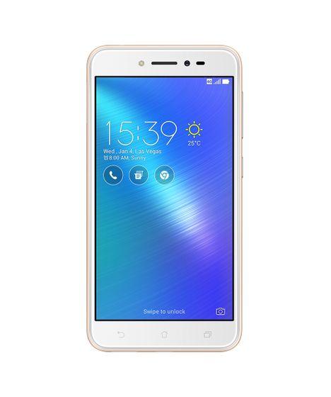 8a3fb6f27 Smartphone Asus ZB501KL Zenfone Live TV 32GB Dourado - cea