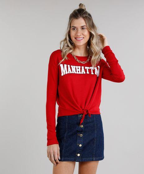 Blusa-Feminina--Manhattan--Cropped-com-No-Manga-Longa-Decote-Redondo-Vermelha-9216620-Vermelho_1