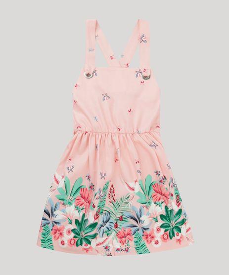 Vestido-Infantil-Estampado-Floral-Alca-com-Ilhos--Rosa-Claro-9115652-Rosa_Claro_1