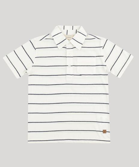 Polo-Infantil-Listrada-com-Bolso-Manga-Curta-Off-White-9193671-Off_White_1