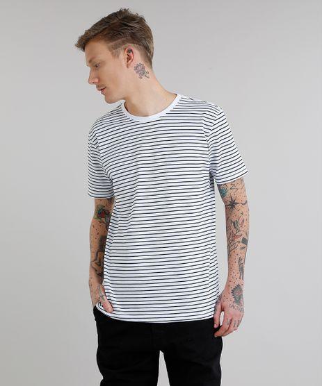 Camiseta-Masculina-Basica-Listrada-Manga-Curta-Gola-Careca-Branca-8551673-Branco_1