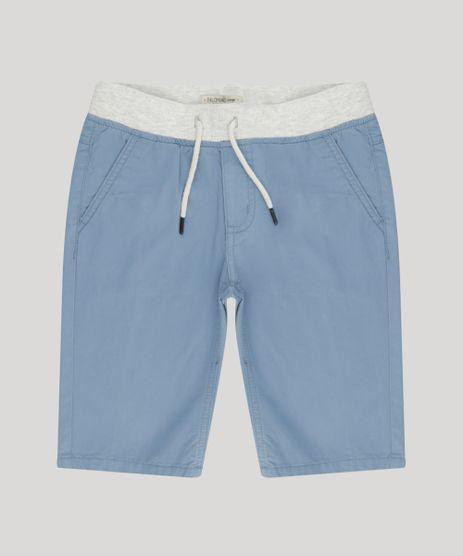 Bermuda-Infantil-com-Cordao-e-Bolso-Azul-9195267-Azul_1