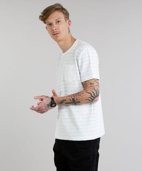 Camiseta-Masculina-Listrada-com-Bolso-Manga-Curta-Gola-Careca-Off-White-9217364-Off_White_1