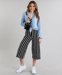 58e325b7c1 Camisa Jeans Feminina com Nó Manga Longa Azul Claro - ceacollections