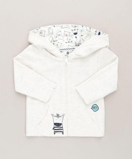 Blusao-Infantil-Dupla-Face-Estampado-de-Bichos-em-Algodao---Sustentavel-Off-White-9118884-Off_White_1
